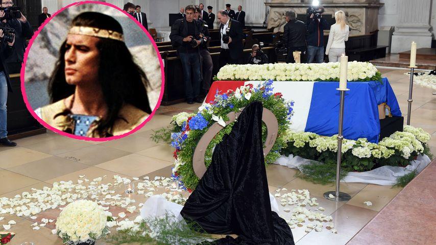 Abschied von Winnetou: Trauerfeier für Pierre Brice