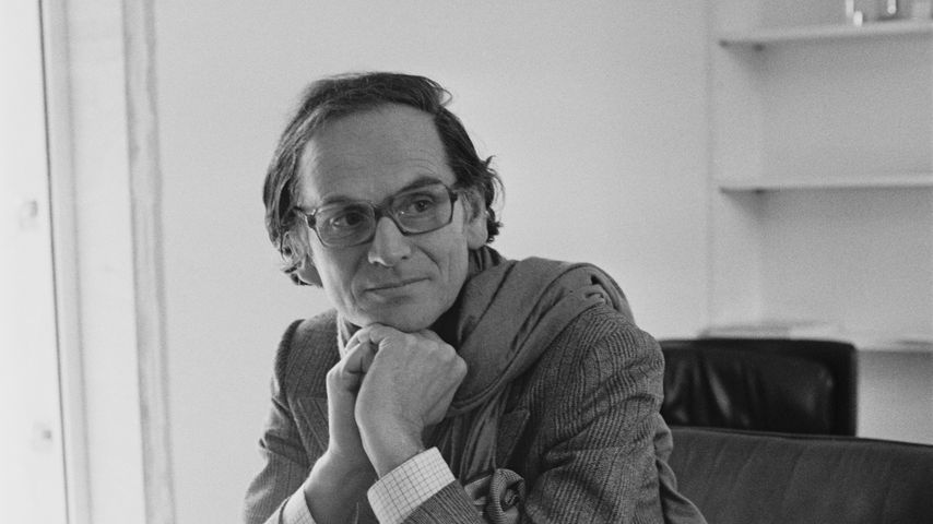 Pierre Cardin in seinem Atelier, Juni 1971