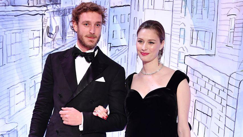Pierre und Beatrice Casirahi beim Rosenball 2018 in Monte Carlo
