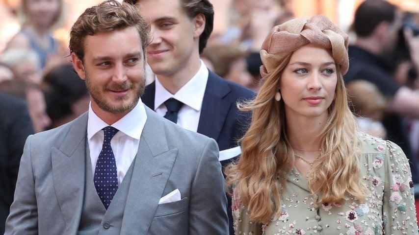 Pierre Casiraghi und seine Frau Beatrice