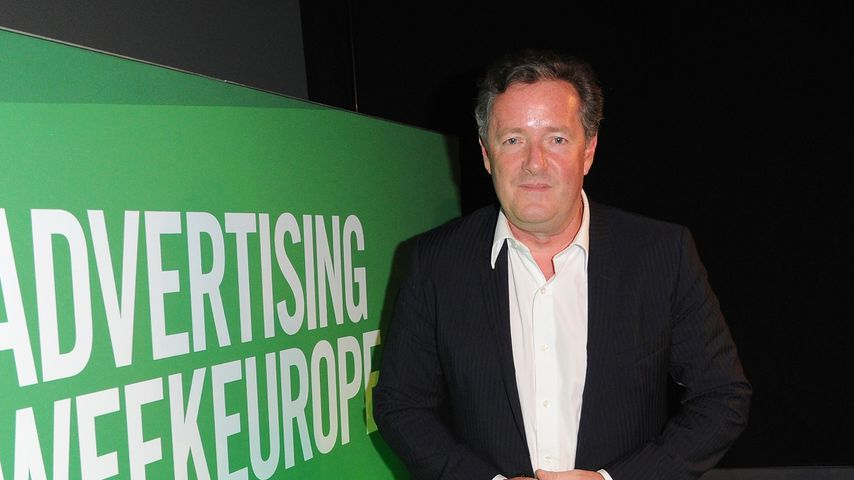Piers Morgan in London während der Advertising Week