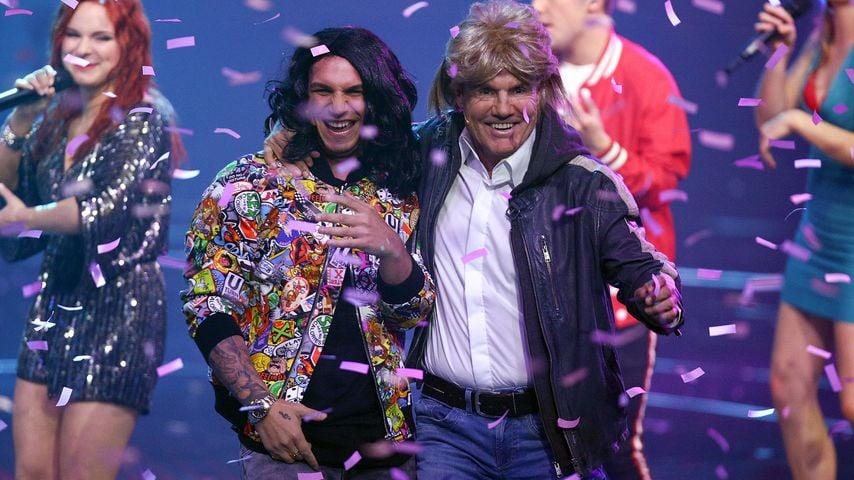 Pietro Lombardi und Dieter Bohlen in der DSDS-Mottoshow am 6. April