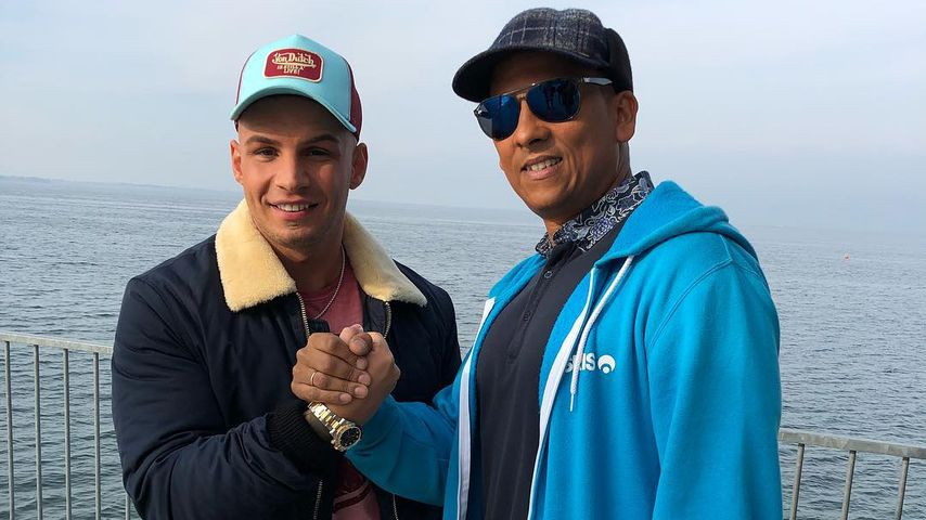 Pietro Lombardi und Xavier Naidoo beim DSDS-Casting am Bodensee