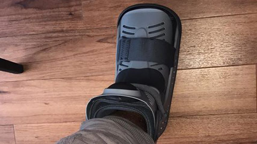 Pietro Lombardis verletzter Fuß