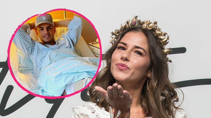 Nach Knie-OP: Sarah besucht Ex-Mann Pietro im Krankenhaus