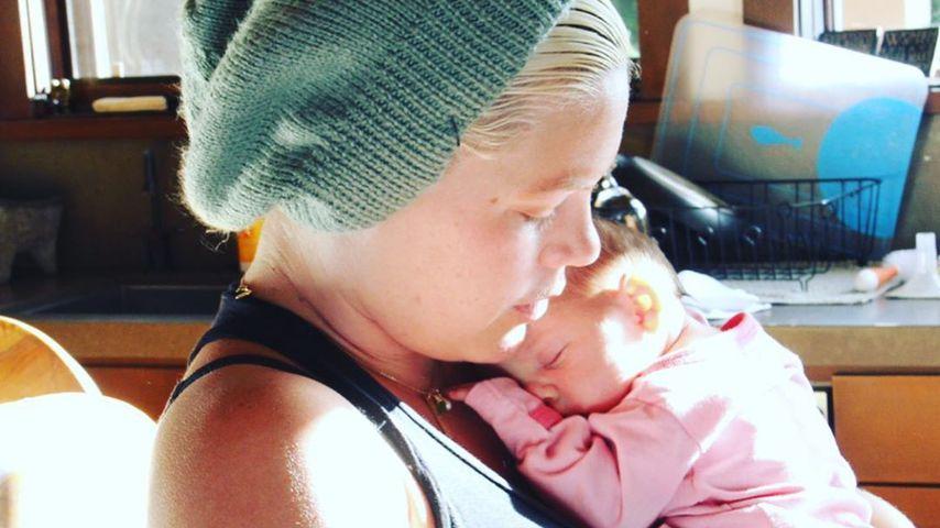 Pink mit ihrer Tochter Willow