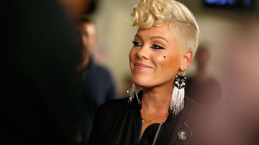 Pink beim iHeartRadio Music Festival in Las Vegas 2017