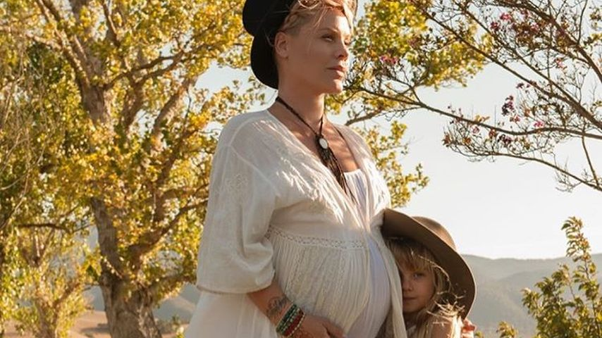 Sängerin Pink mit ihrer Tochter Willow Sage Hart