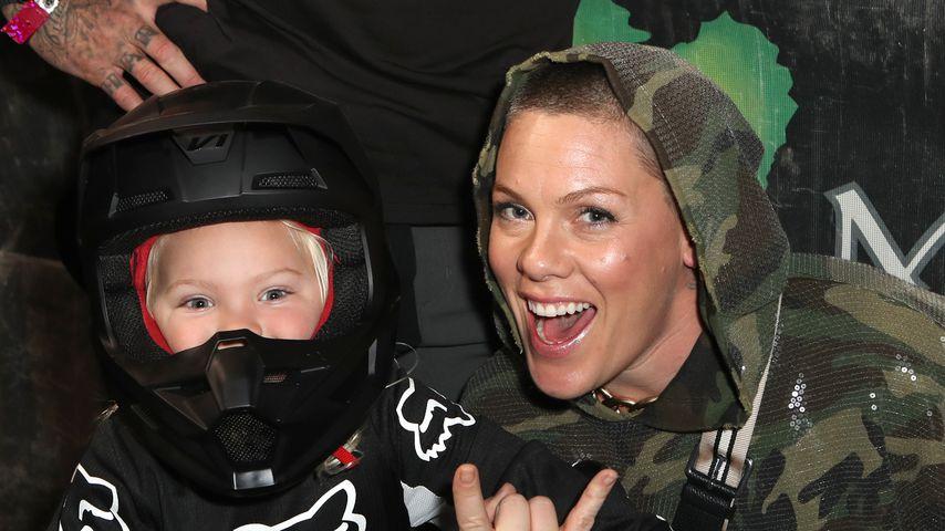 Pink und ihr Sohn Jameson im Januar 2020