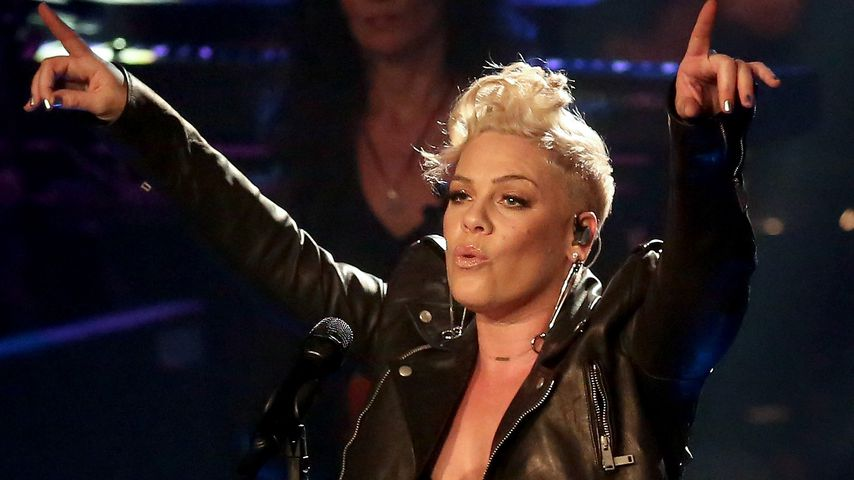 "Pink beim Halbfinale von ""The Voice of Germany"" 2017"