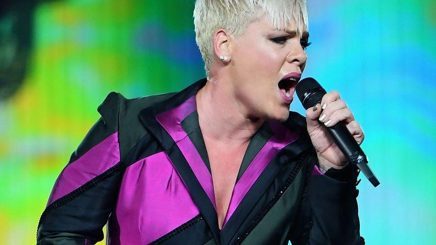 Pink bei einem Auftritt in Melbourne im Juli 2018