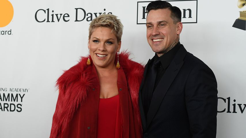 Pink und Ehemann Carey Hart im Januar 2018