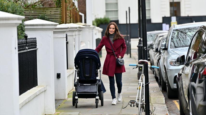 Pippa Middleton bei einem Spaziergang in London im Dezember 2019