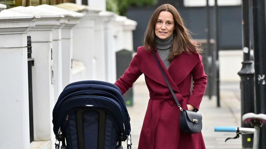 Süßer Ausflug: Pippa Middleton mit Baby Arthur unterwegs!