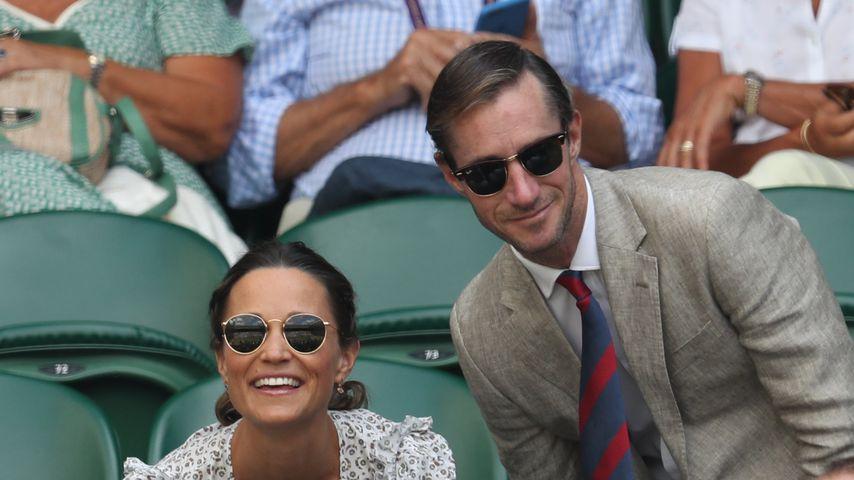 Pippa Middleton und James Matthews beim Tennisturnier in Wimbledon