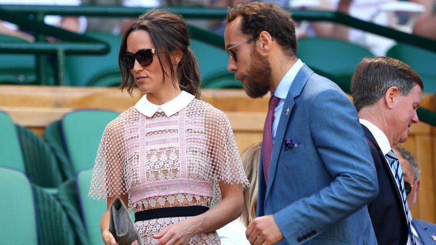 Pippa und James Middleton in Wimbledon
