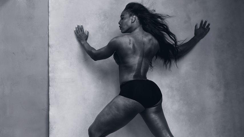 Serena Williams im Pirelli Kalender 2016