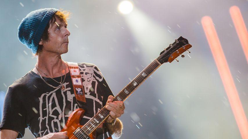Pål Waaktaar-Savoy bei einem Konzert in Rio de Janeiro 2015
