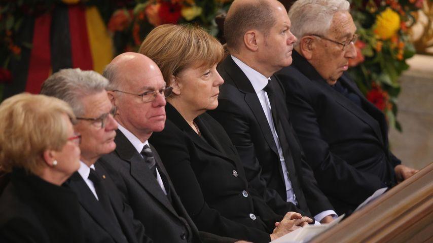 Helmut Schmidt: Internationale Politprominenz nimmt Abschied