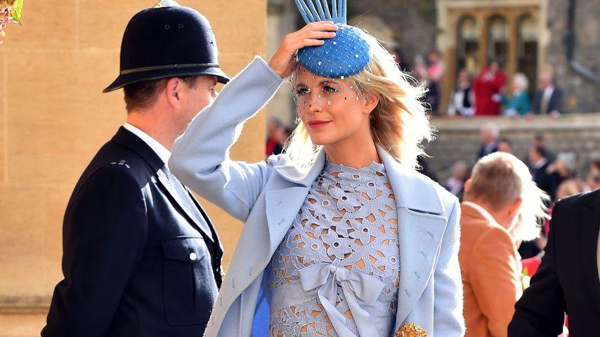 Poppy Delevingne bei Prinzessin Eugenies Hochzeit