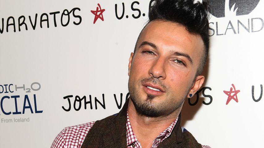 Popsänger Tarkan bei der Fashion Week New York im September 2009
