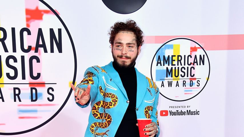 Post Malone bei den American Music Awards 2018