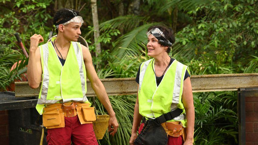 Prince Damien und Sonja Kirchberger im Dschungelcamp