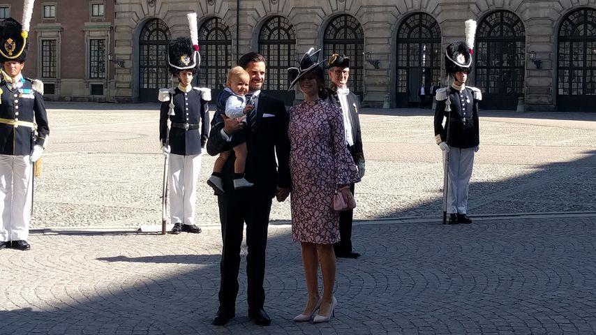 Prinz Alexander, Prinz Carl Philip und Prinzessin Sofia von Schweden