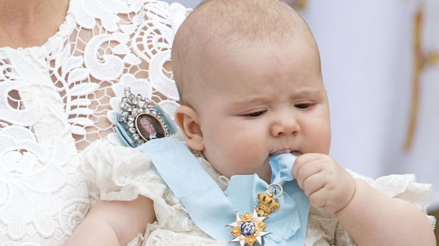 Süüüß! Die ersten Bilder von Prinz Alexanders Taufe sind da!