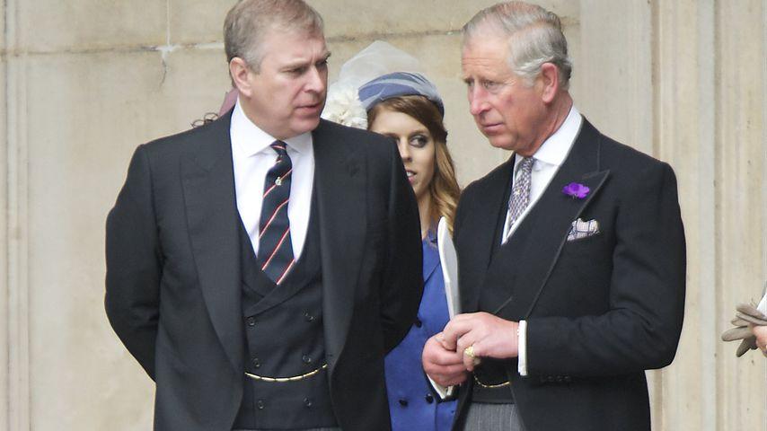 Prinzen-Zoff: Charles lässt Bruder Andrew im Stich