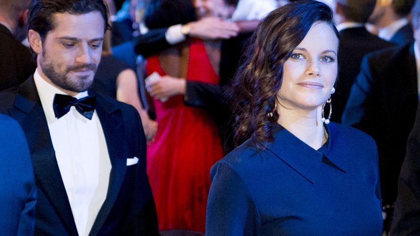 Süße Zweisamkeit: Prinzessin Sofia strahlt neben Carl Philip