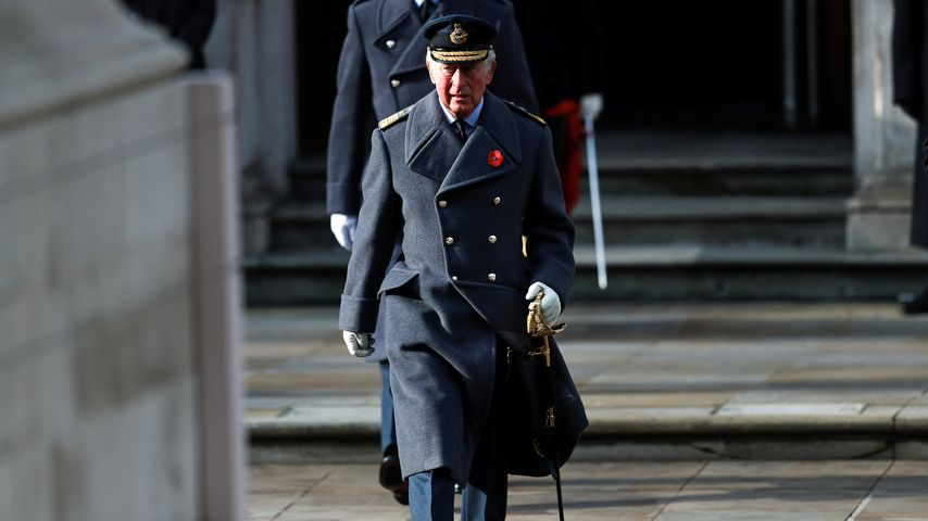 Prinz Charles am Remembrance Day 2020