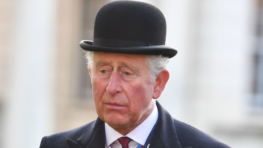 Prinz Charles am Remembrance Day in London
