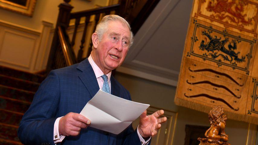 Prinz Charles bei einem Empfang im Clarence House