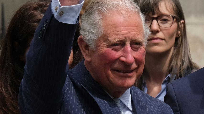Prinz Charles im Mai 2019 in Leipzig