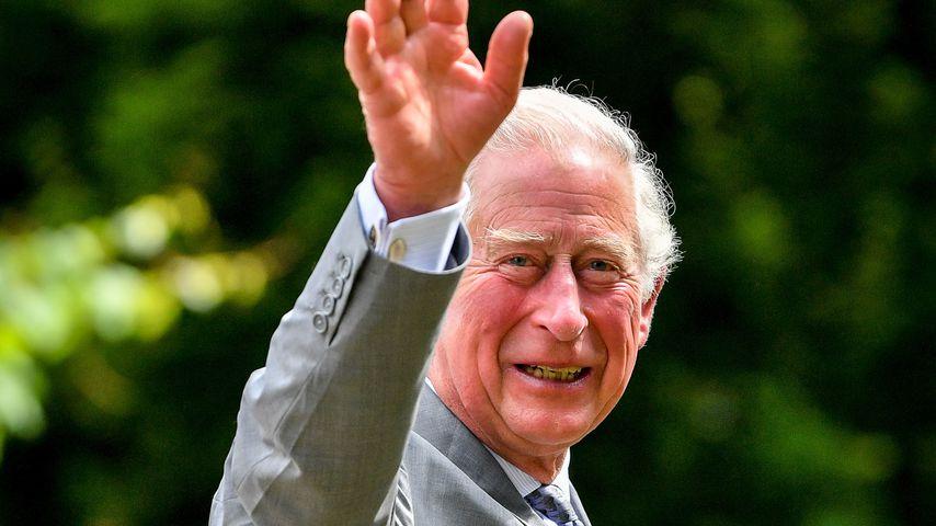 Prinz Charles in Gloucestershire, Juni 2020