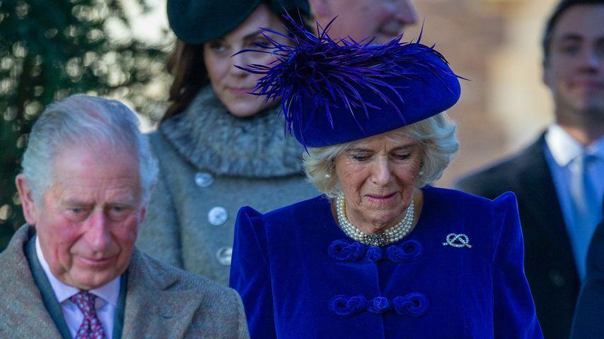 Prinz Charles mit Herzogin Camilla im Dezember 2019