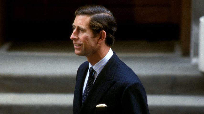 Prinz Charles, nach der Geburt von Prinz Harry 1984