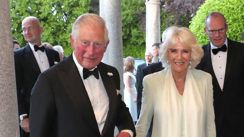 Prinz Charles und Camilla bei einem Besuch in Dublin