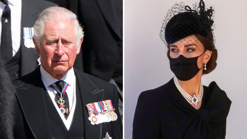 Ergreifend: Herzogin Kate tröstete trauernden Prinz Charles