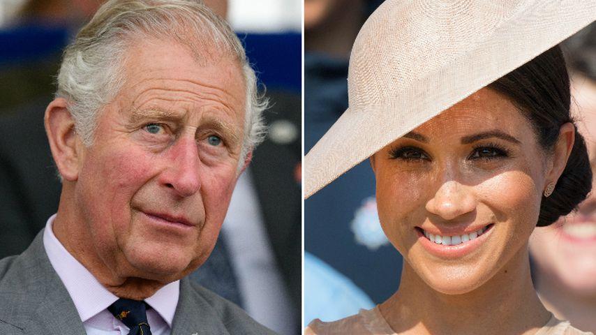 Nach fieser Lästerattacke: Prinz Charles steht zu Meghan