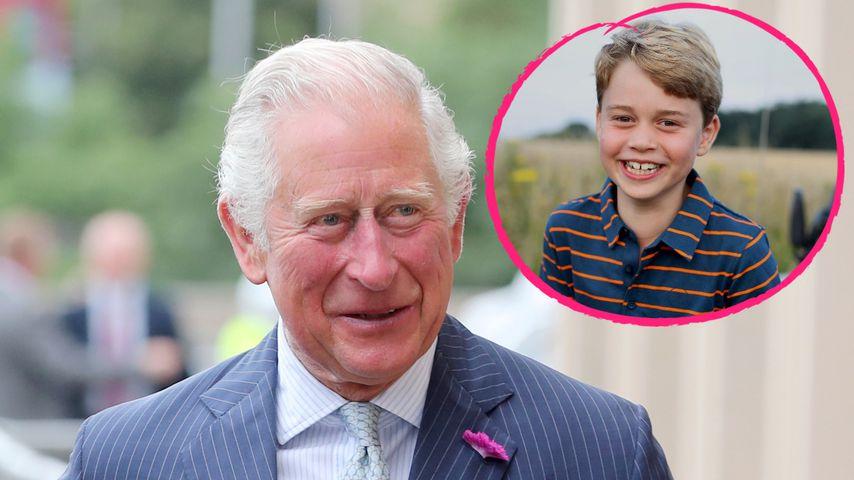 So süß gratuliert Prinz Charles seinem Enkel Prinz George