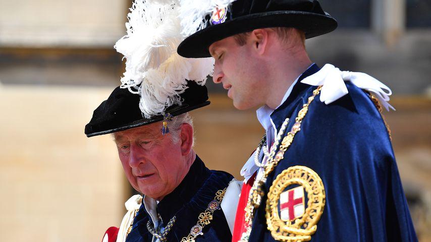 So rührend ehrt Prinz William seinen Papa Prinz Charles