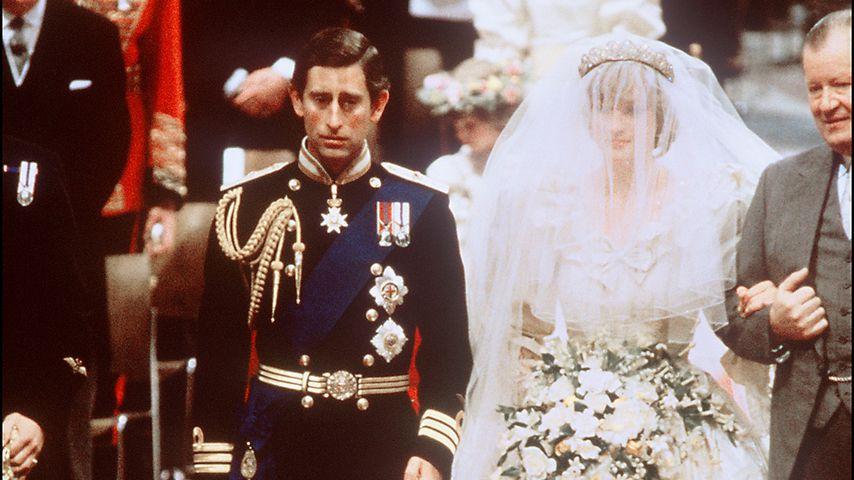 Prinz Charles und Prinzessin Diana bei der Hochzeit 1981