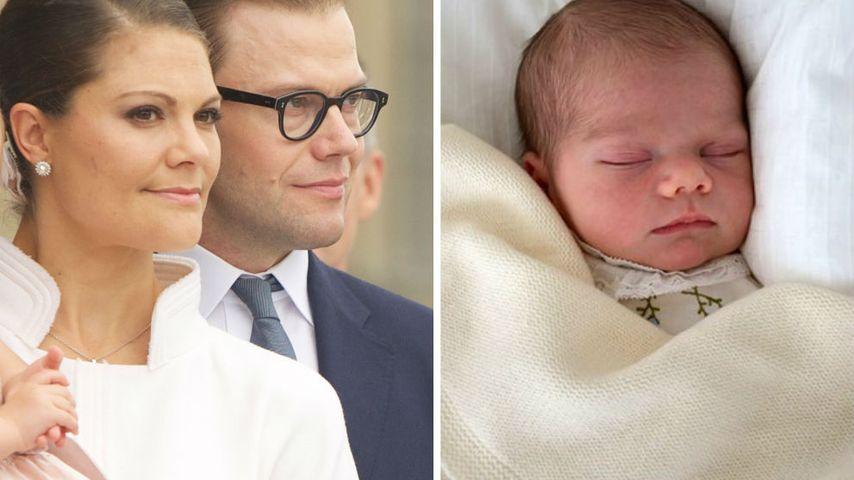 Eltern-Battle: Wem sieht Prinz Oscar von Schweden ähnlicher?