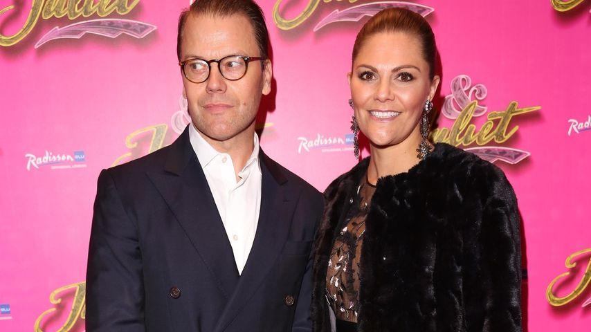 """Prinz Daniel und Prinzessin Victoria von Schweden auf der """"& Juliet""""-Premiere in London"""