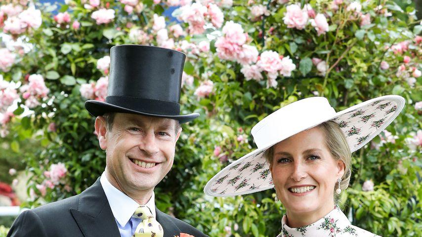 Prinz Edward und Sophie am Tag vor ihrem 20. Hochzeitstag