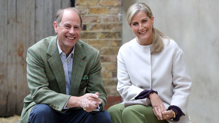 Prinz Edward und Sophie Wessex auf der Vauxhall City Farm