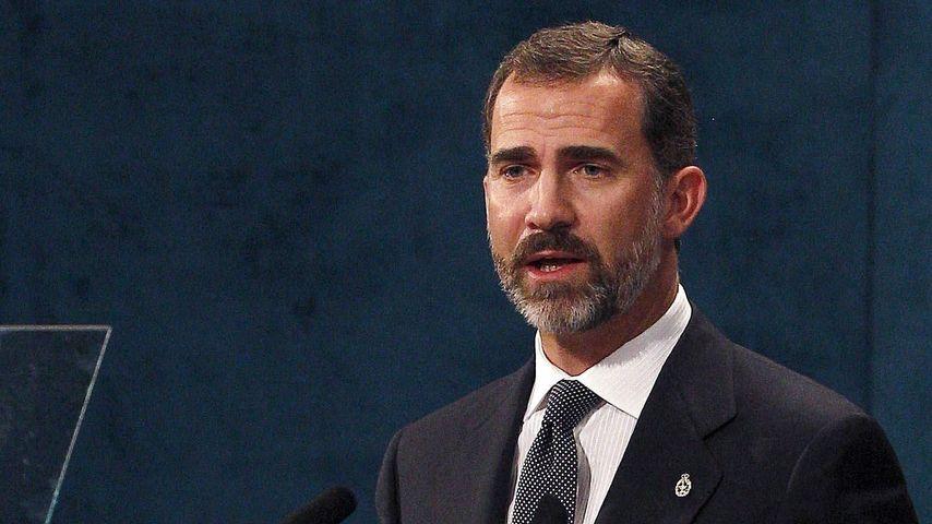 Kronprinz Felipe: 1 Nacht in Flugzeug festgehalten