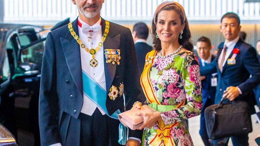 König Felipe von Spanien und Königin Letizia in Japan